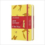 Moleskine 2019 12m Limited Edition Petit Prince Daily, Pocket, Daily, Yellow Sunflower, Hard Cover (3.5 X 5.5) (Desk)