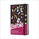 Moleskine Limited Edition Notebook Barbie Accessories, Pocket, Plain, Black, Hard Cover (3.5 X 5.5) (Other)