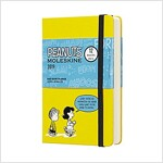 Moleskine 2019 12m Limited Edition Peanuts Daily, Pocket, Daily, Yellow, Hard Cover (3.5 X 5.5) (Desk)