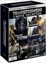 [4K 블루레이] 트랜스포머 5-Movie 콜렉션: 한정수량 (10disc: 4K UHD 5disc+2D BD 5disc)