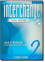 Interchange Student's Book 2 with Audio CD [With CD] (Paperback, 3, Student)