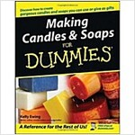 Making Candles & Soaps for Dummies (Paperback)