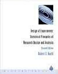 Design of Experiments: Statistical Principles of Research Design and Analysis (Hardcover, 2)