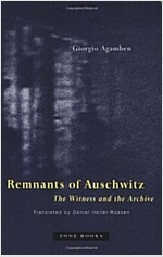 Remnants of Auschwitz: The Witness and the Archive (Paperback, Revised)