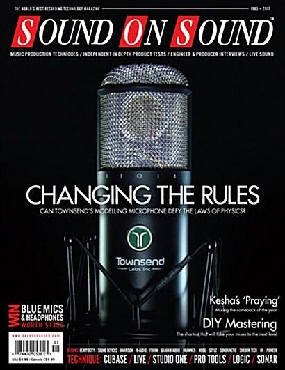 Sound on Sound (월간 영국판): 2017년 11월호