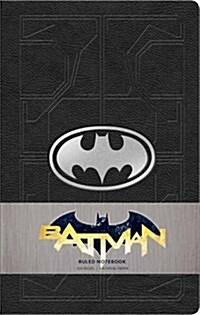 DC Comics: Batman Ruled Notebook (Paperback)
