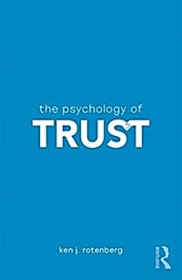 [중고] The Psychology of Trust (Paperback)