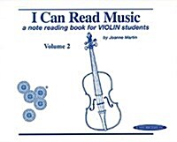 I Can Read Music, Vol 2 a Note Reading Book for Violin Students (Paperback)