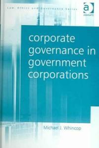 Corporate governance in government corporations