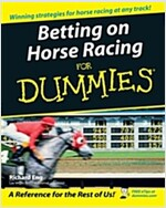 Betting On Horse Racing For Dummies (Paperback)