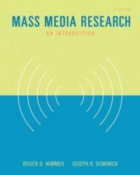 Mass media research : an introduction 8th ed