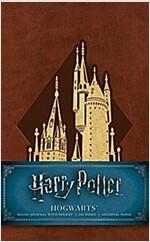 Harry Potter: Hogwarts Ruled Pocket Journal (Hardcover)