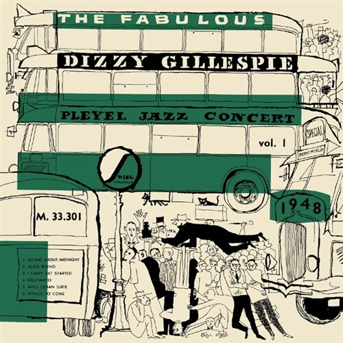 [수입] Dizzy Gillespie - Pleyel Jazz Concert 1948 Vol.1 [LP][그린 & 화이트 마블 컬러반]