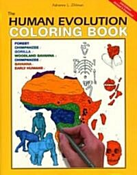 The Human Evolution Coloring Book, 2nd Edition (Paperback, 2)