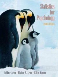 Statistics for psychology 4th ed
