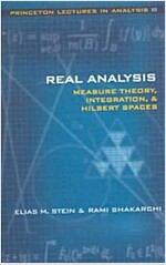 Real Analysis: Measure Theory, Integration, and Hilbert Spaces (Hardcover)