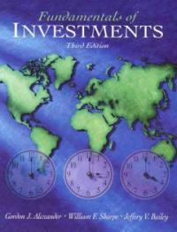 Fundamentals of investments 3rd ed