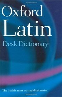 Oxford Latin Desk Dictionary (Hardcover)