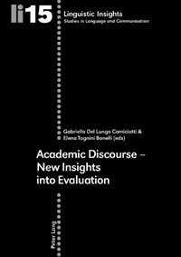 Academic discourse : new insights into evaluation