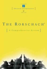 The Rorschach : a comprehensive system 3rd ed