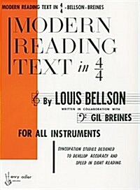 Modern Reading Text in 4/4: For All Instruments (Paperback)