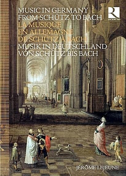 [수입] 쉬츠에서 바흐까지의 독일 음악 (8CD+BOOK)