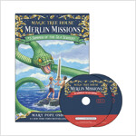 Merlin Mission #3 : Summer of the Sea Serpent (Paperback + CD )