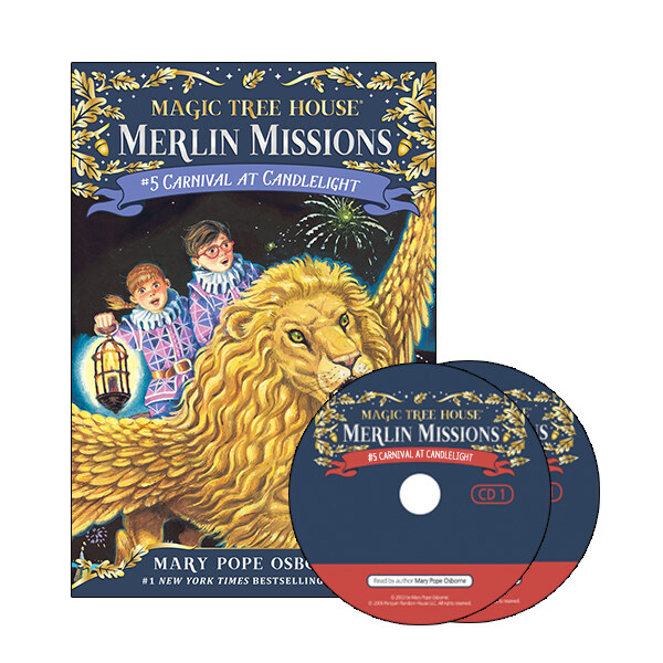 Merlin Mission #5 : Carnival at Candlelight (Paperback + CD )