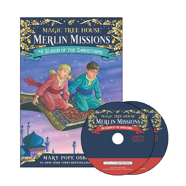 Merlin Mission #6 : Season of the Sandstor (Paperback + CD )