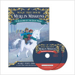 Merlin Mission #8 : Blizzard of the Blue Moon (Paperback + CD )