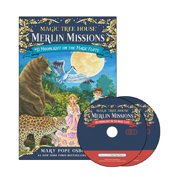 Merlin Mission #13 : Moonlight on the Magic Flute (Paperback + CD )