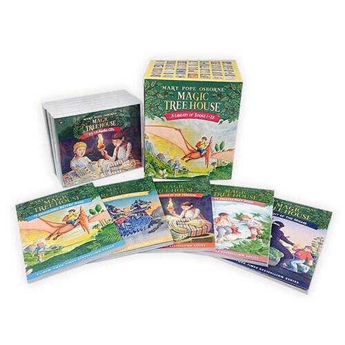 Magic Tree House #1~28 Set (Book + CD + Wordbook)