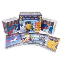 Magic Tree House Merlin Missions #1~25 Set (Book + CD + Wordbook)