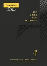 The Greek New Testament, Black French Morocco Leather TH513:NT : Produced at Tyndale House, Cambridge (Leather Binding)