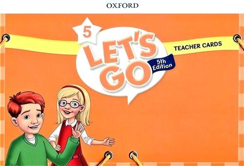 (5판)Lets Go 5: Teacher Cards (Cards, 5th Edition )