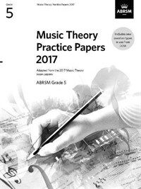 Music Theory Practice Papers 2017, ABRSM Grade 5 (Sheet Music)