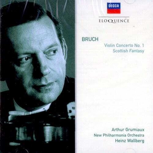 [수입] 브루흐 : 바이올린 협주곡 1번