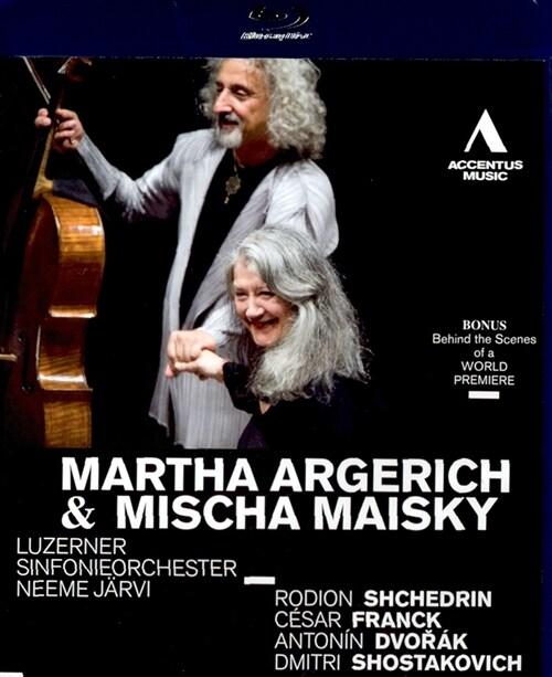 [수입] [블루레이] 마르타 아르헤리치 & 미샤 마이스키가 함께 하는 콘서트 실황