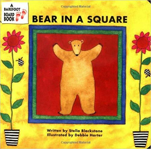 Bear in a Square (Board Book)