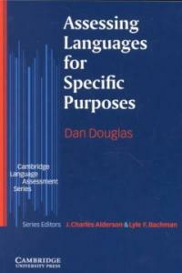 Assessing language for specific purposes