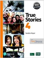 Even More True Stories Student Book with Essential Online Resources Level 4, Silver Edition (Paperback, 4)