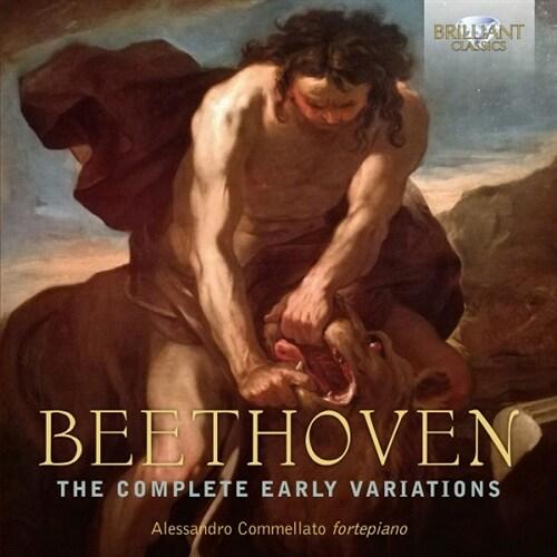[수입] 베토벤 : 초기 변주곡 전곡집 [3CD]