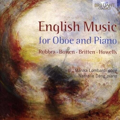 [수입] 오보에와 피아노를 위한 영국 음악 - 루브라, 브리튼 등의 작품