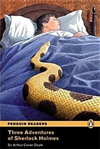 Level 4: Three Adventures of Sherlock Holmes (Paperback, 2 ed)
