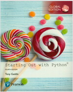 Starting Out with Python, Global Edition (Package, 4 ed)
