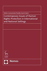 Contemporary issues of human rights protection in international and national settings