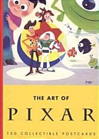 The Art of Pixar: 100 Collectible Postcards (Loose Leaf)