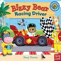 Bizzy Bear: Racing Driver (Board Book)