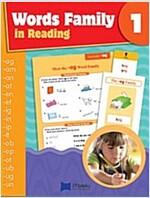파닉스 Word Family in Reading 1: Student Book (Paperback + CD)