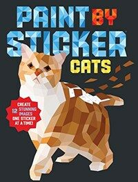 Paint by Sticker: Cats (Paperback)